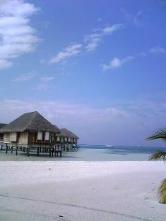 青い空青い海@Maldives