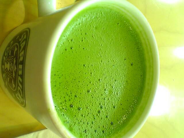 抹茶teaラテ